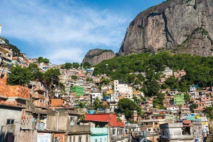 Rocinha, the best-known favela in Rio de Janeiro