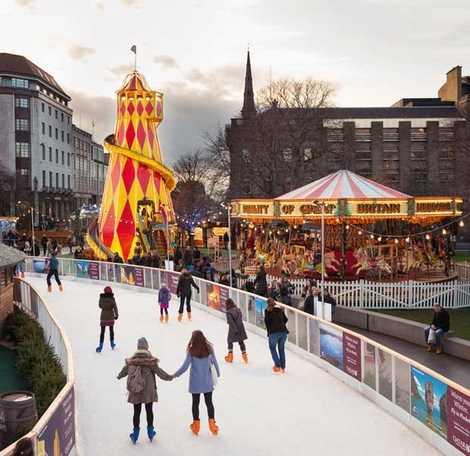 Christmas Ice Skating.Top 5 Ice Skating Rinks This Christmas National Geographic