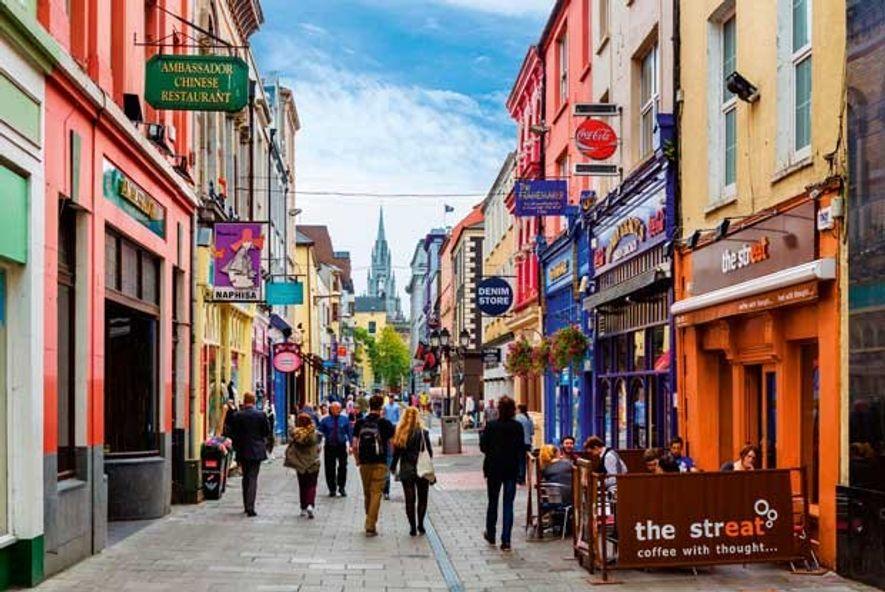 Cook Street and Holy Trinity Church, Cork