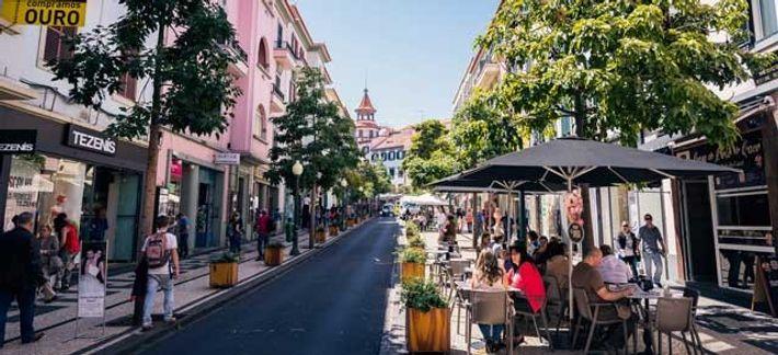 A street in Funchal