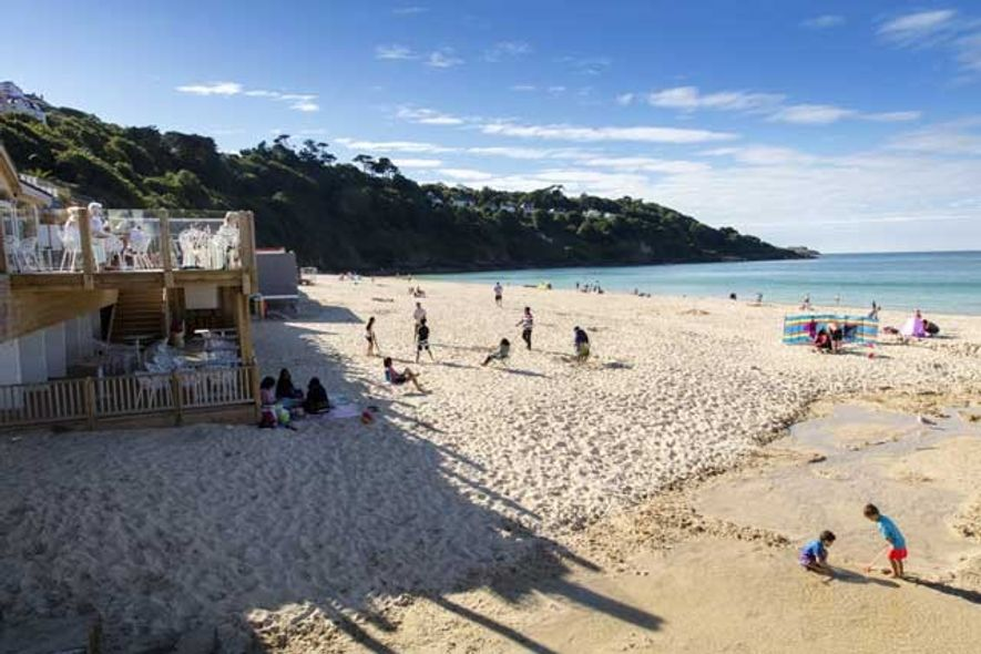 Carbis Bay Beach. Image: Visit Cornwall