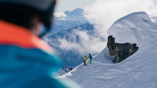 There are thrilling ski slopes to be found in the high reaches of British Columbia, Colorado ...