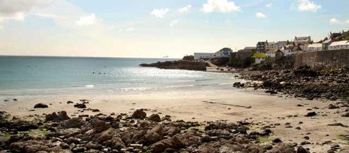 Coverack Beach, St Just. Image: Emily Mott
