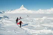 Ski touring inKulusuk, Tasiilaq, Greenland