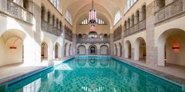 Indoor pool at The Oderberger