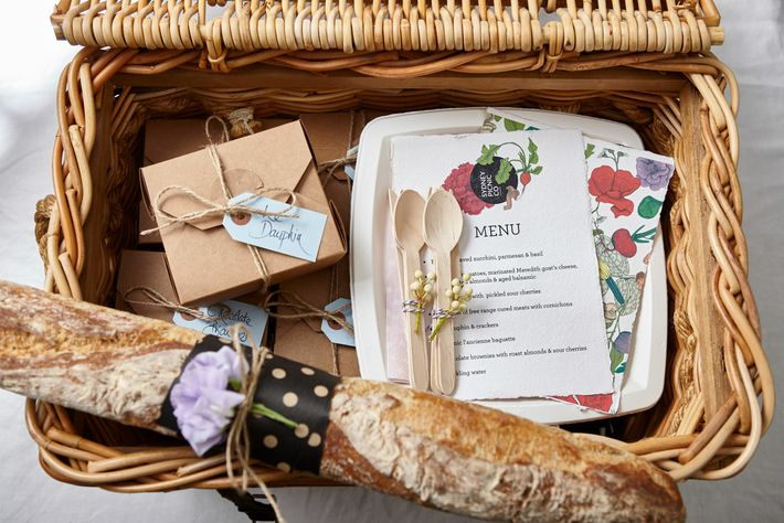 Sydney Picnic Co will make up a beautiful picnic hamper and deliver it right to the ...