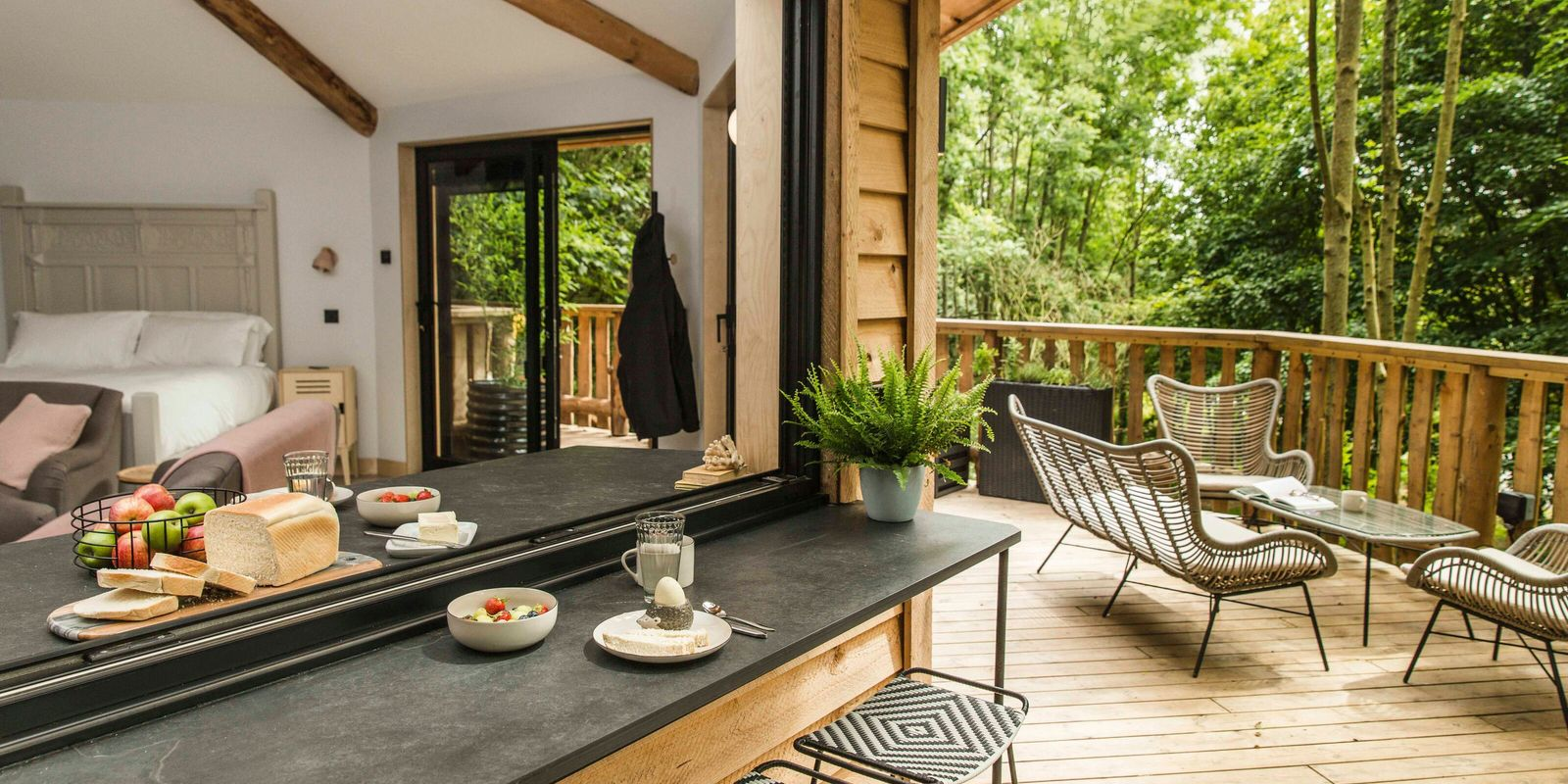 Win a three-night stay at a treehouse hideaway in Devon