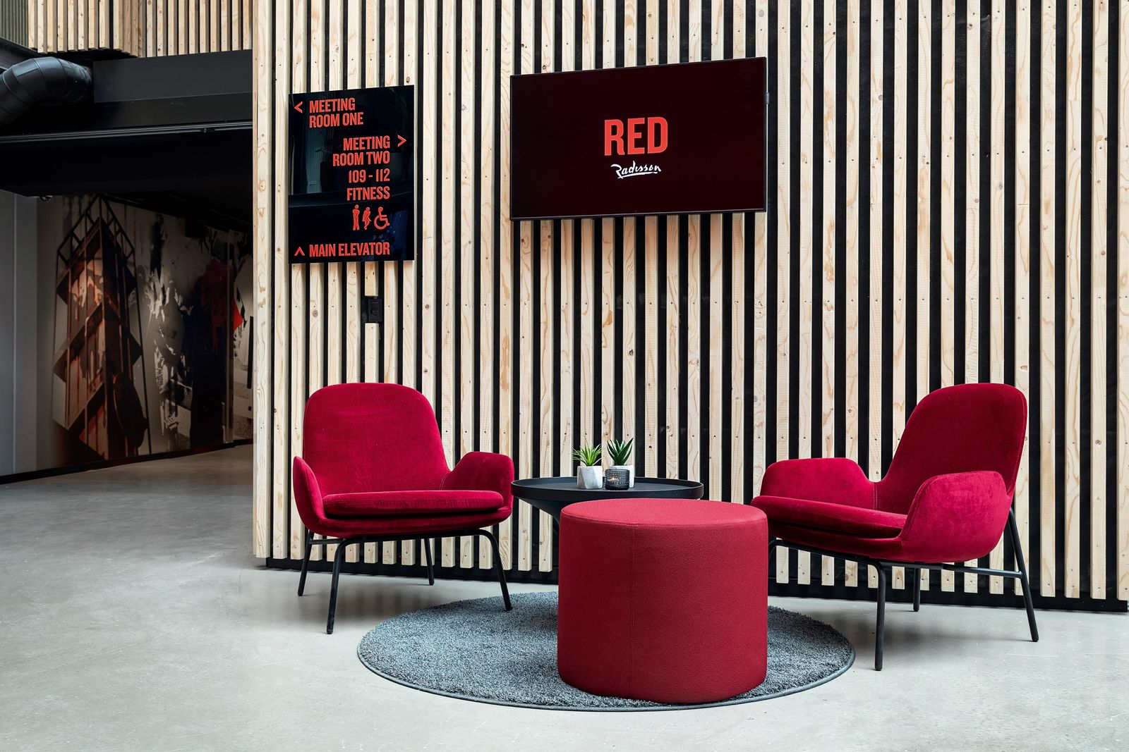 Radisson Red is one of a clutch of new design-minded hotels in the Danish city.