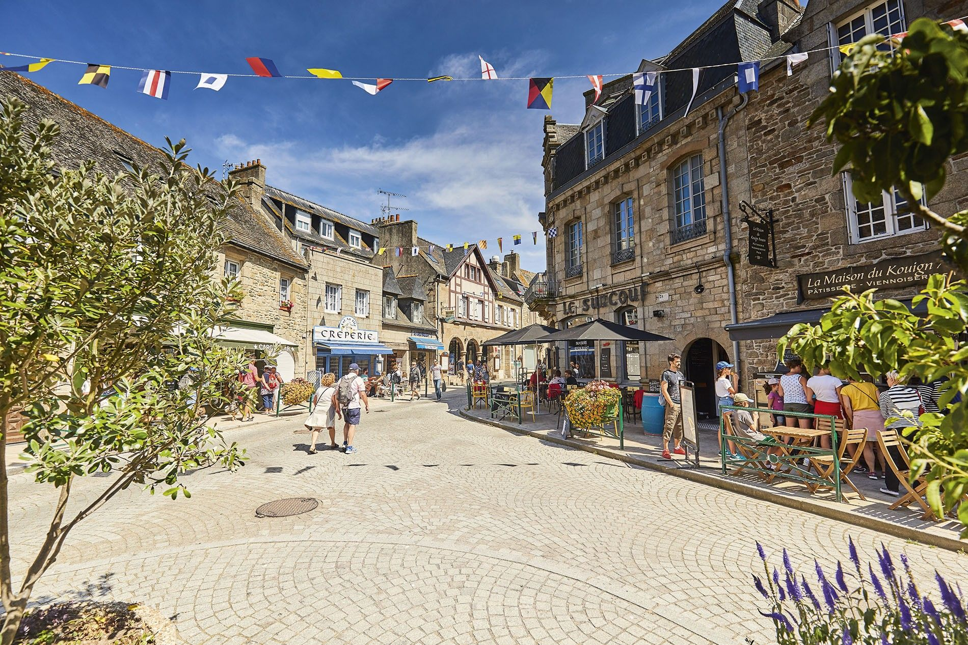 Old town, Roscoff.