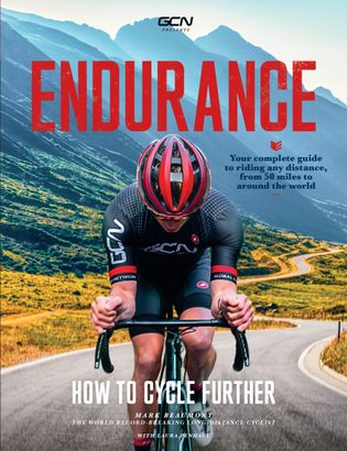 The cover of Endurance: How To Cycle Further,Mark Beaumont's new book.