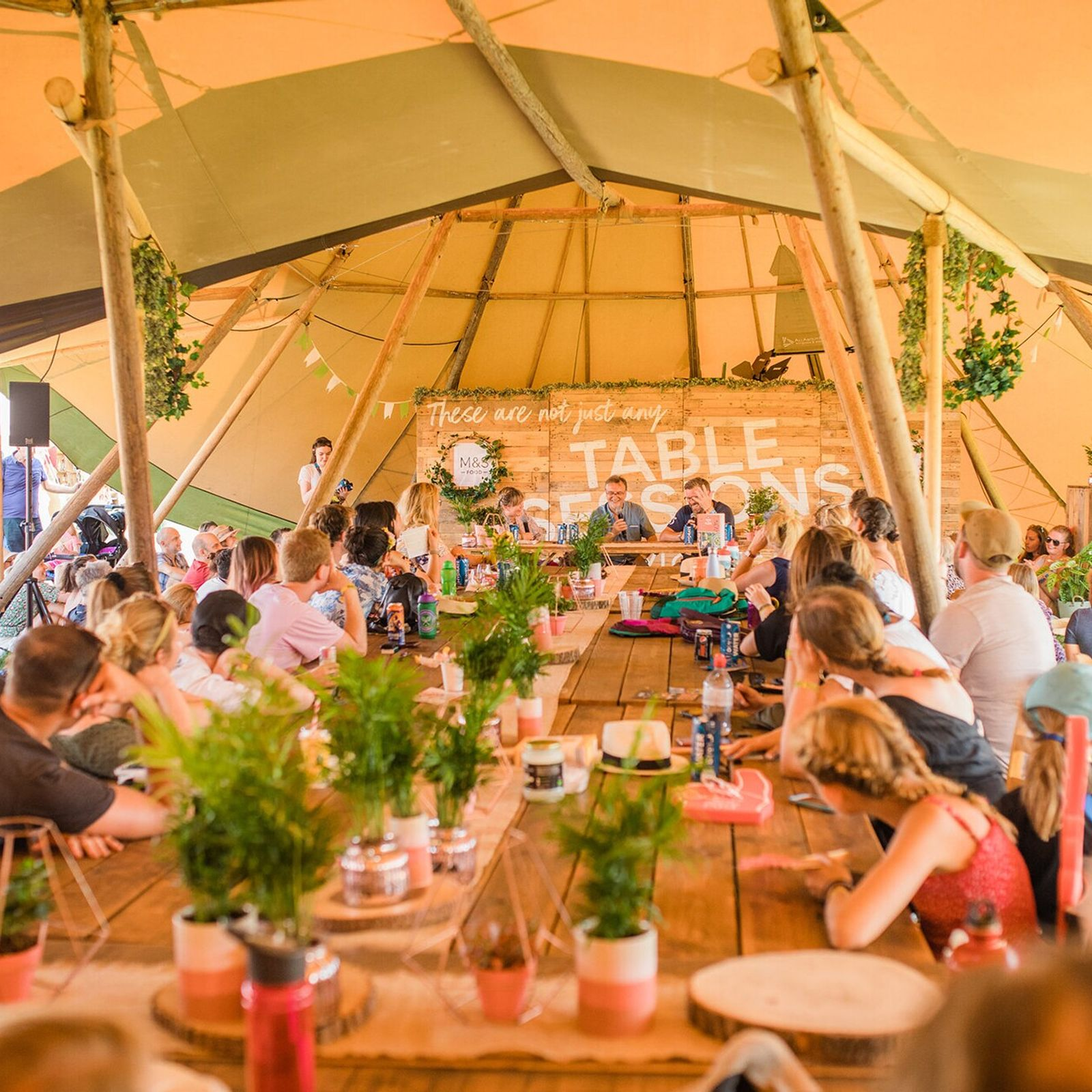 Blur bassist-turned-cheesemaker Alex James hosts The Big Festival, agourmet music festival, on his Cotswolds estate.