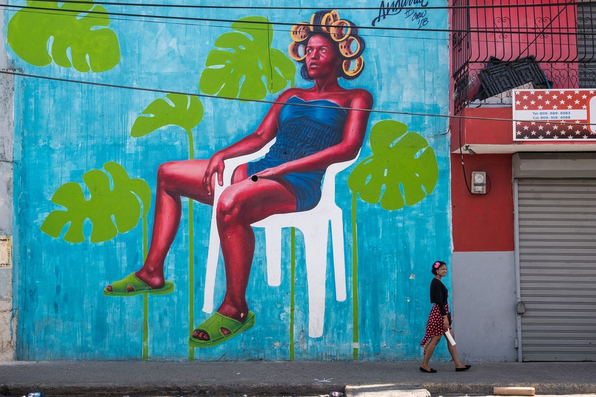 The work of artist, illustrator and art director Evaristo Angurria centres on Dominican culture and identity. ...