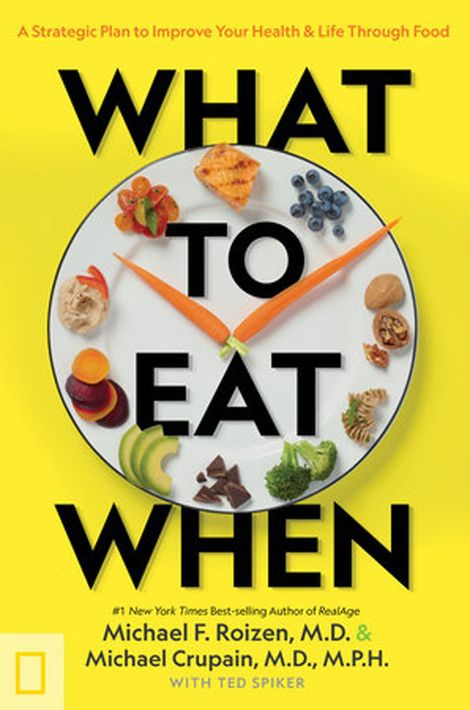What to Eat When: A Strategic Plan to Improve Your Health & Life Through Food, published by National Geographic Books, is available now here.