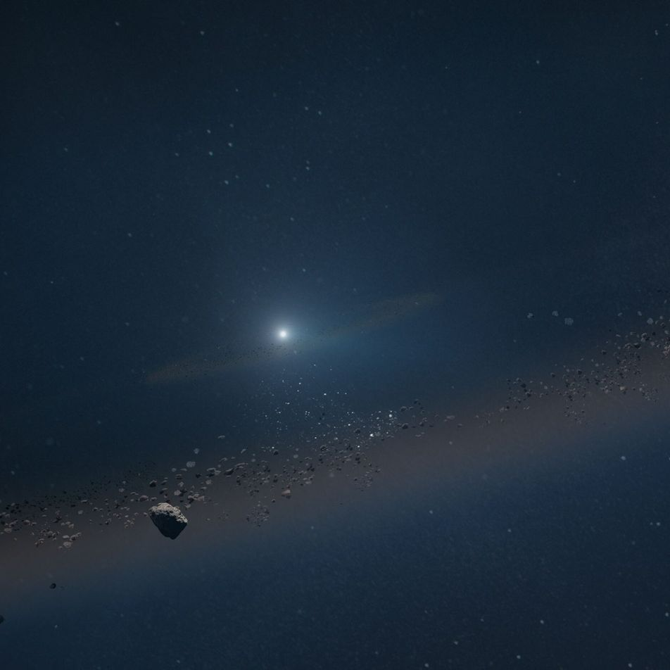 Planet circling a burned-out star offers a glimpse at the solar system's fate
