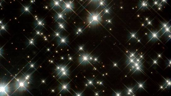 Ancient white dwarf stars in the Milky Way, as seen by NASA's Hubble Space Telescope in ...