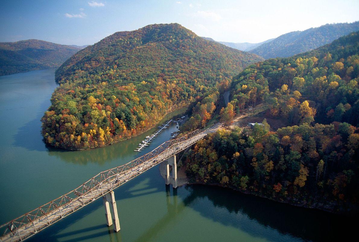 Bluestone River, West Virginia