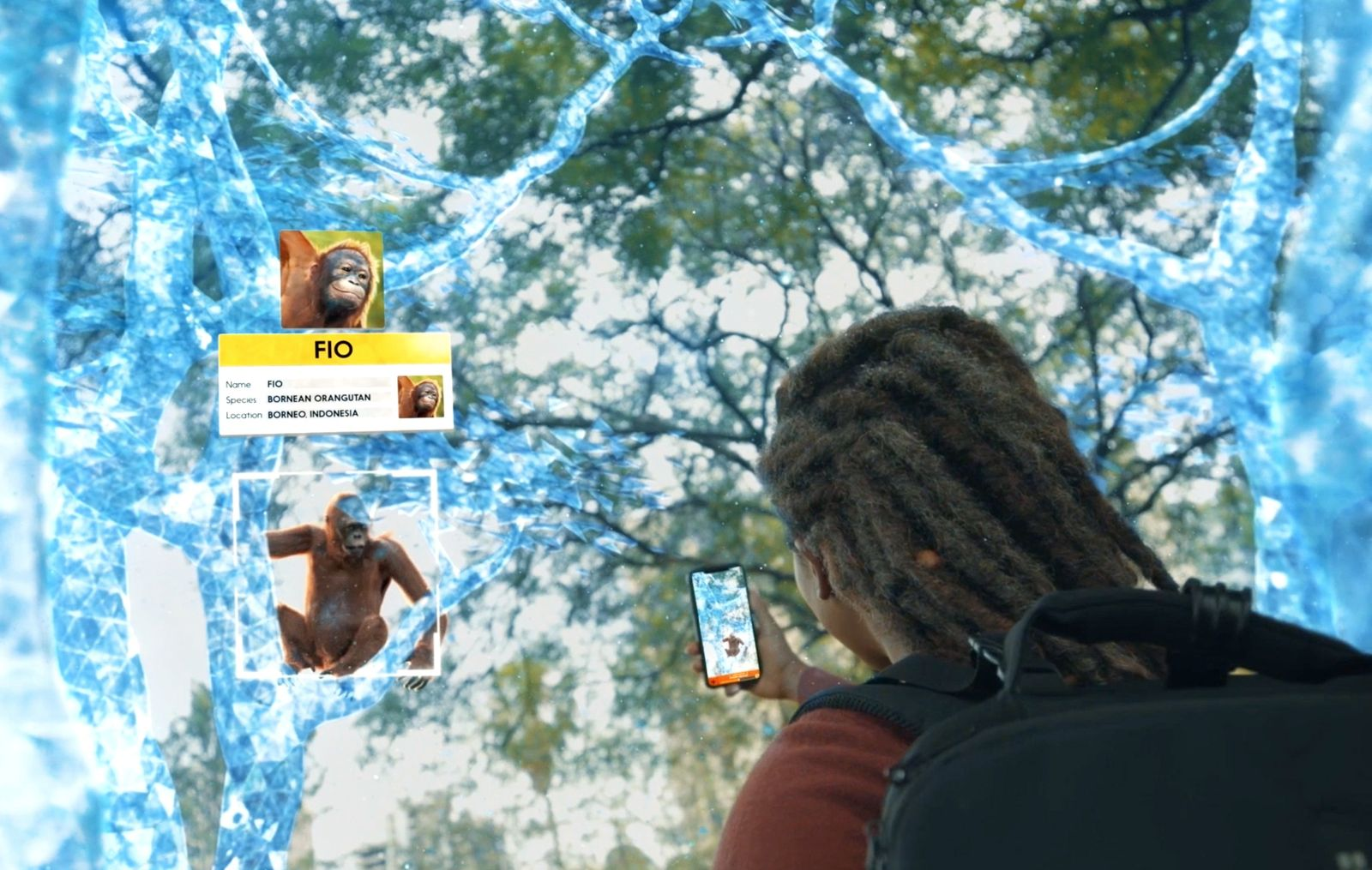 Wildeverse is an augmented reality game that aims to educate its players about threatened species by ...