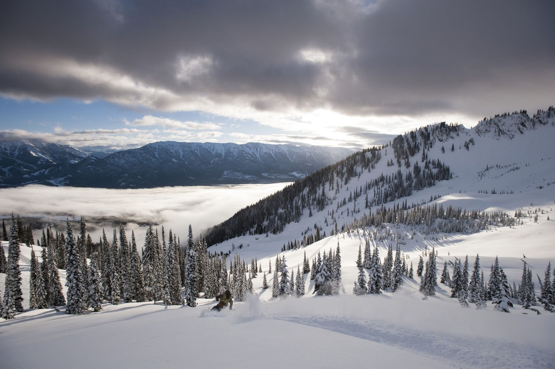 The Powder Highway driving route takes you through the British Columbia Interior, giving access to eight ...