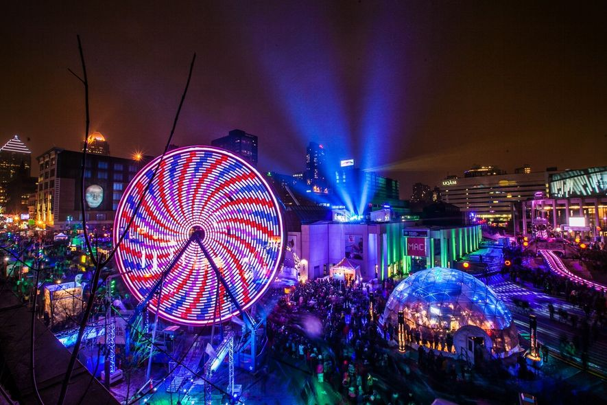 Festivals such as Montréal en Lumière, with its dazzling light installations, live music and entertainment, and ...