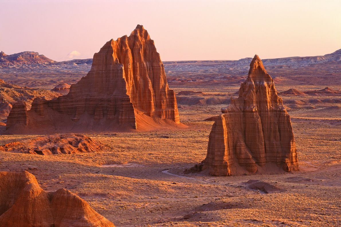 The morphing moonscapes of Capitol Reef National Park are lesser known than Bryce or Zion, but ...