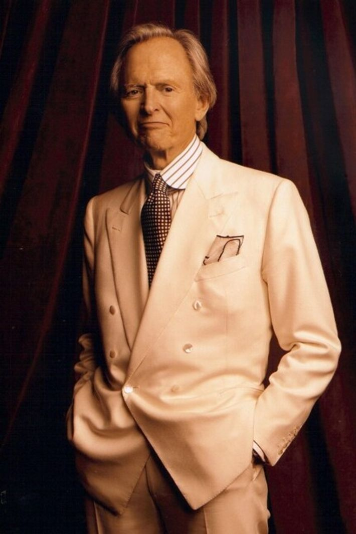 Born in Virginia in 1930, Tom Wolfe's perpetual trademark was a white suit, which he wore ...