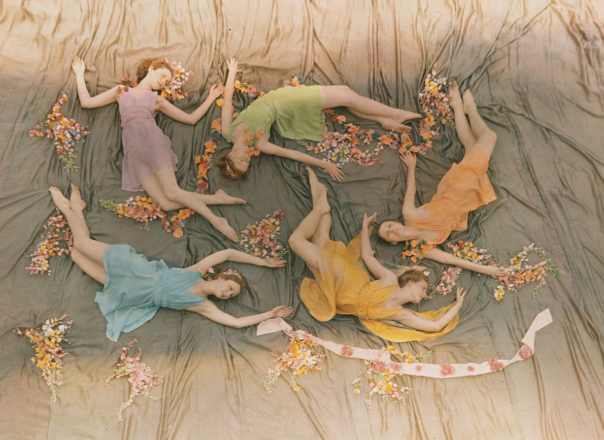 PRE-1937, MISSISSIPPI | A group of dancers perform at what was then the Mississippi State College ...