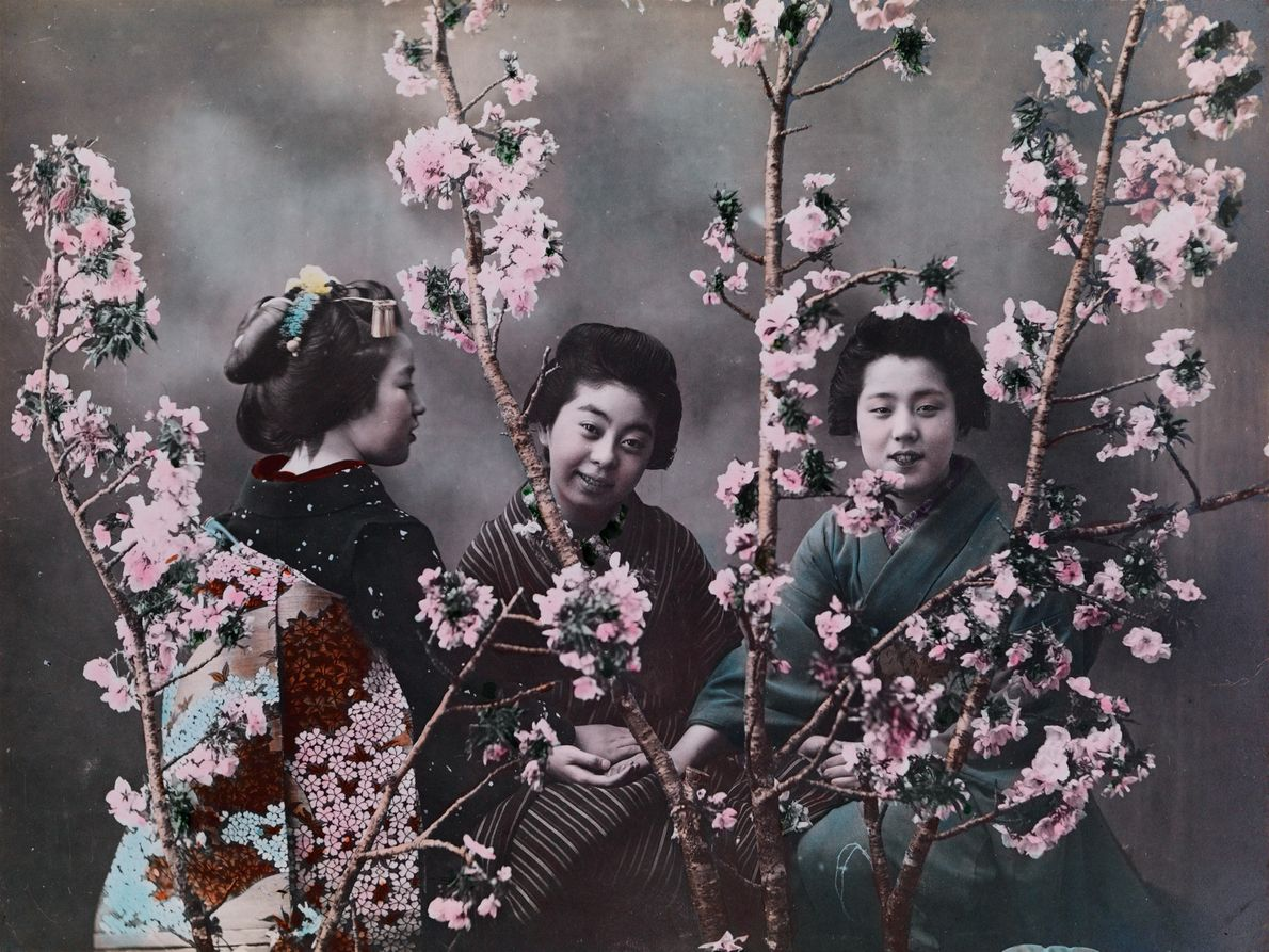 PRE-1918, JAPAN | Eliza Scidmore, believed to be National Geographic's first female photographer, pushed for colour ...