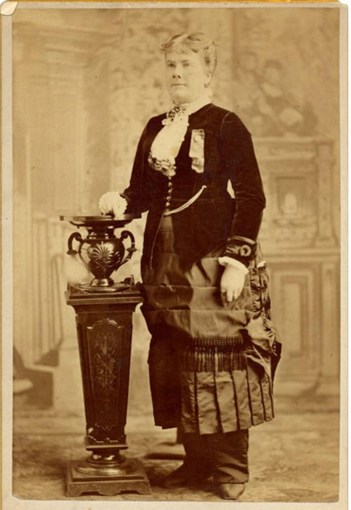 Marietta Stow became the first woman to run for vice president when she ran with Belva ...