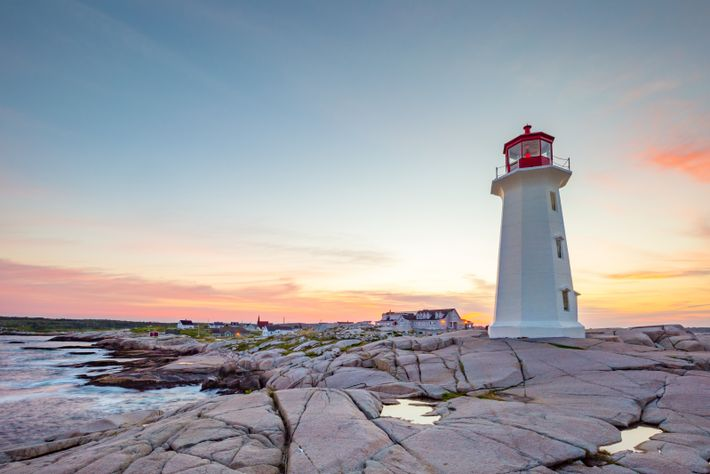 Peggy's Cove Lighthouse has earned iconic status as Canada's most-photographed lighthouse.