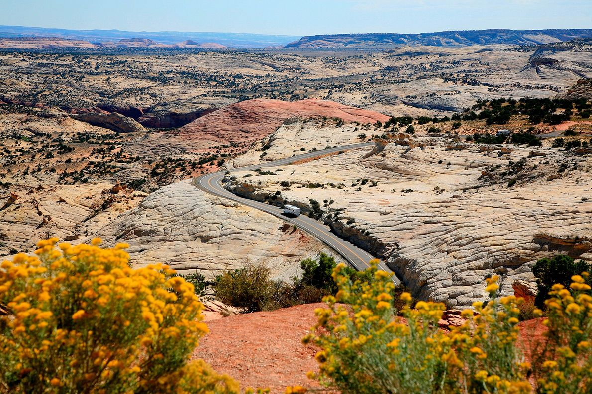 """Utah's 27 scenic byways are sights in their own right. """"Our roads don't just lead to ..."""