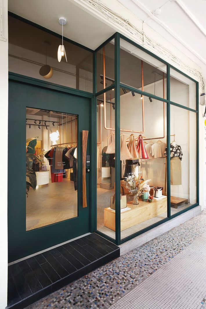 Nana & Bird, a boutique selling chic apparel and jewellery inYong Siak Street, in the Tiong ...