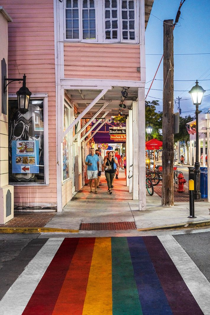 Duval Street, in downtown Key West, is one of the most popular destinations on the island ...