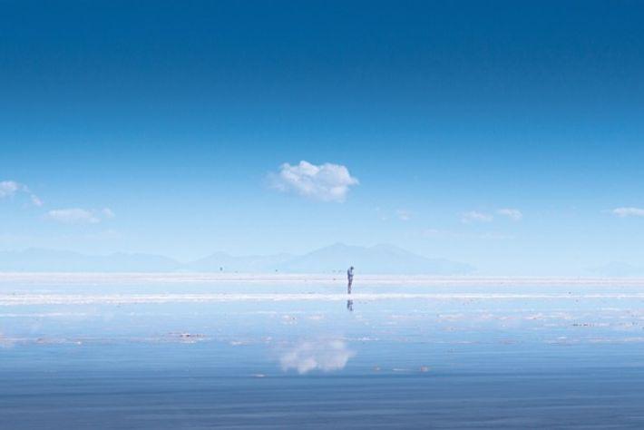 Salar de Uyuni, Bolivia. Image: Getty
