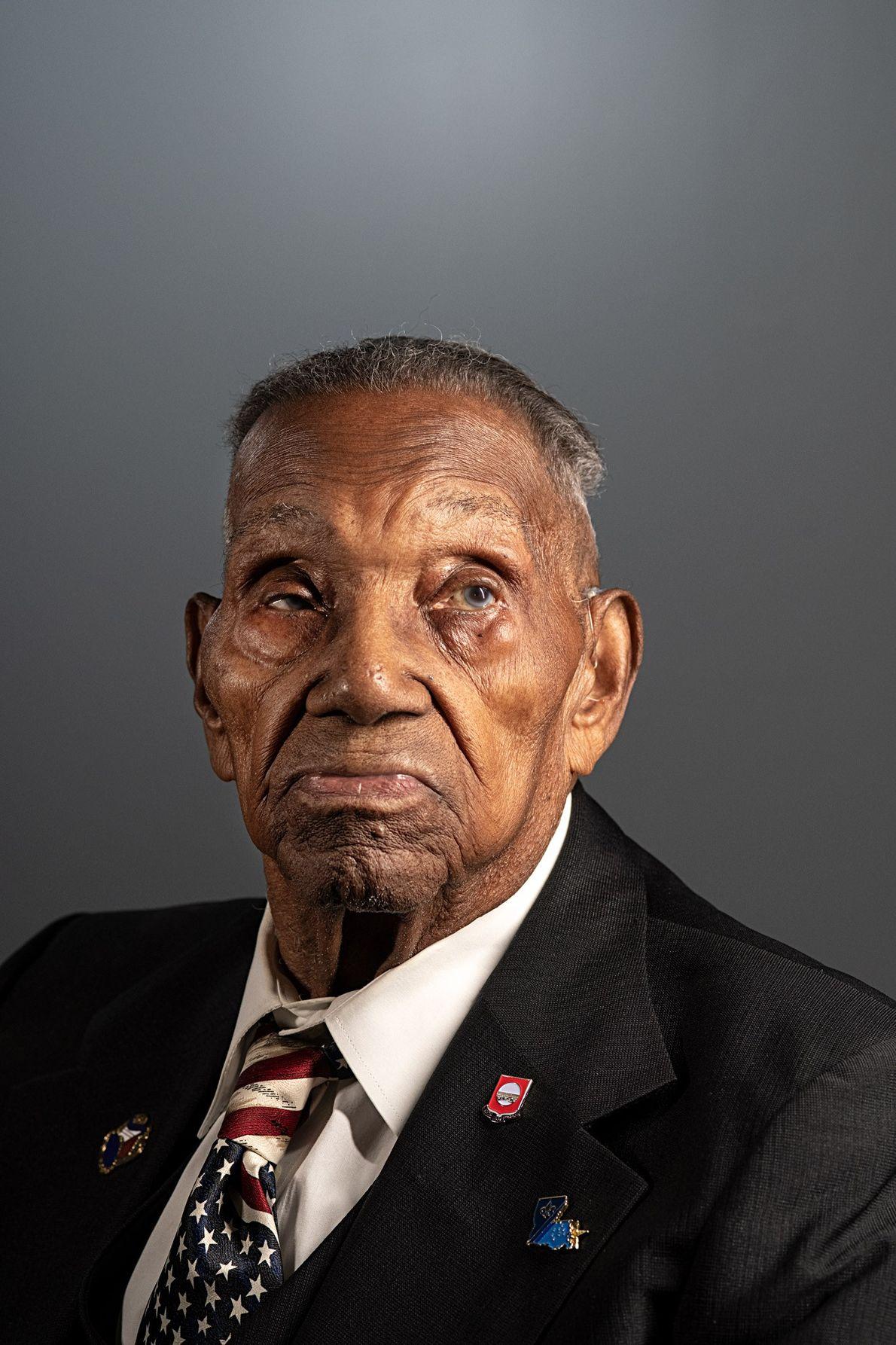 Lawrence Brooks, America's oldest known living veteran