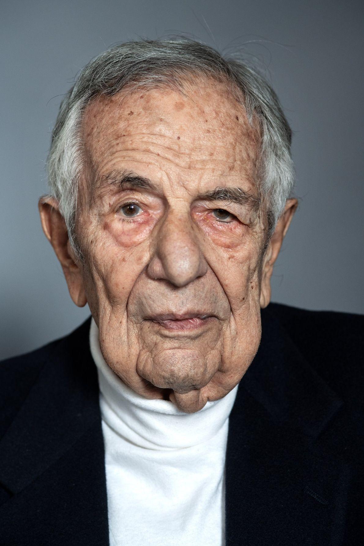 Maximilian Lerner, holocaust survivor