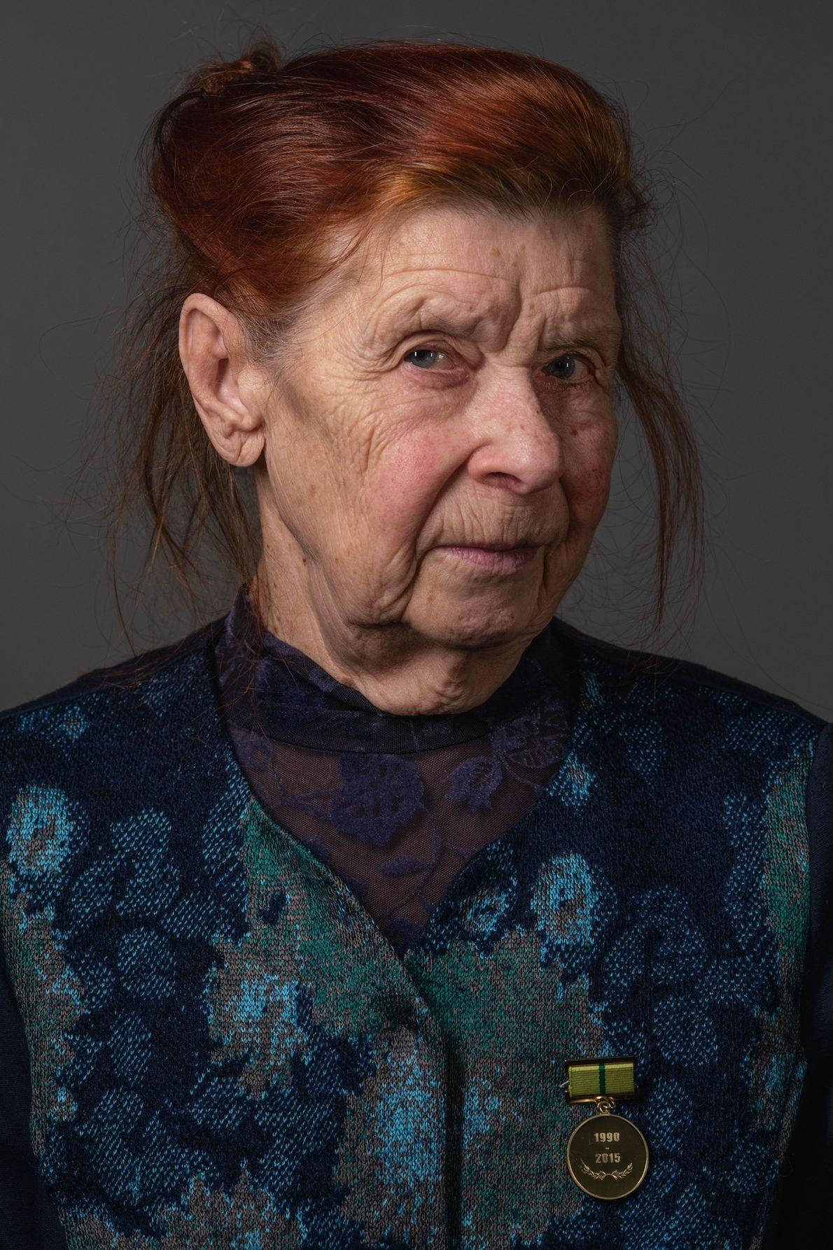 Vera Nikitina, Leningrad blockade survivor