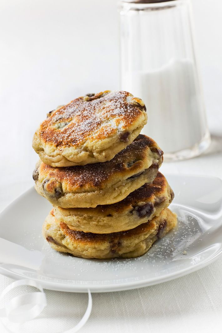 Welsh cakes are made with butter or lard mixed with flour and sugar, bound with an ...