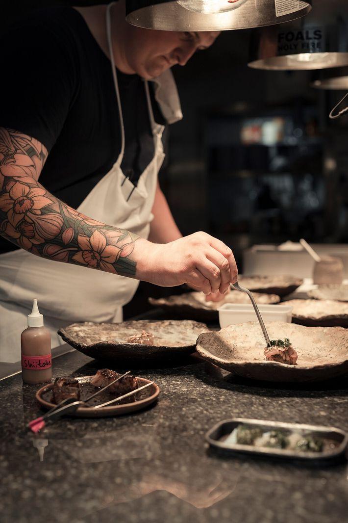 Gareth Ward, chef-owner of Ynyshir Restaurant & Rooms, runs Wales's most highly-awarded restaurant.
