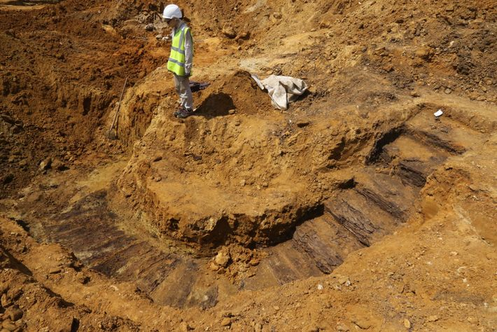 The Dig Hill 80 project revealed a network of WWI trenches and underground infrastructure in Wijtschate, ...