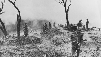 Memories of World War II bloodshed surface in a trek across India