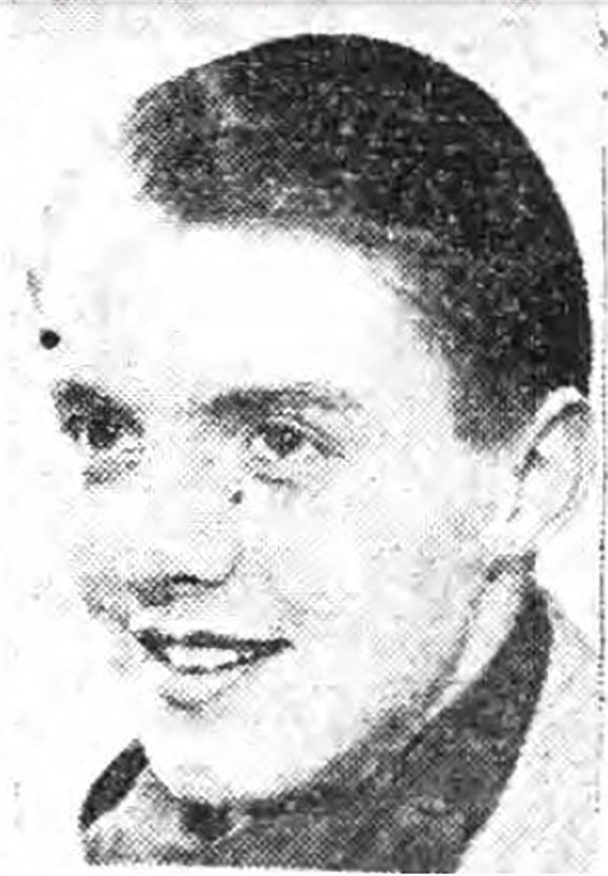 This portrait of Thomas Sharpe appeared in the Derbyshire Times on May 5, 1944, when the ...
