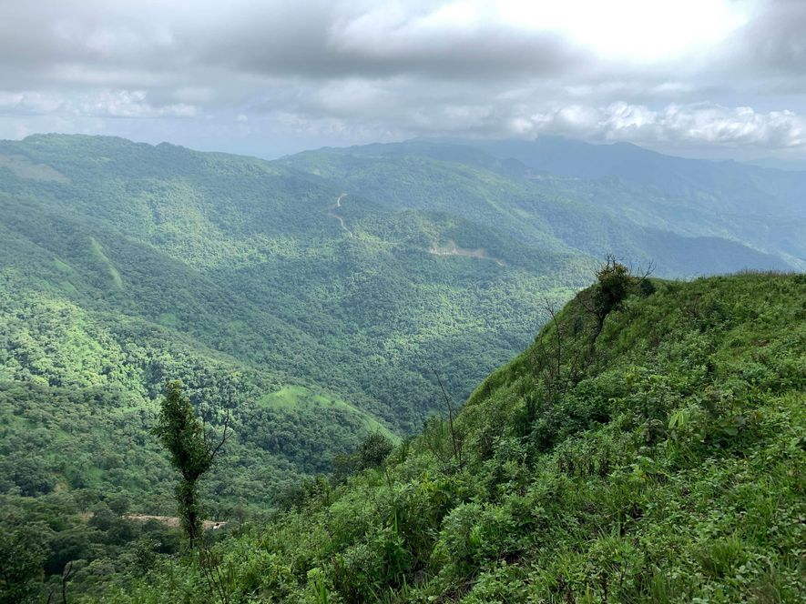 The forested hills of Manipur are a verdant paradise today. But during World War II, when ...