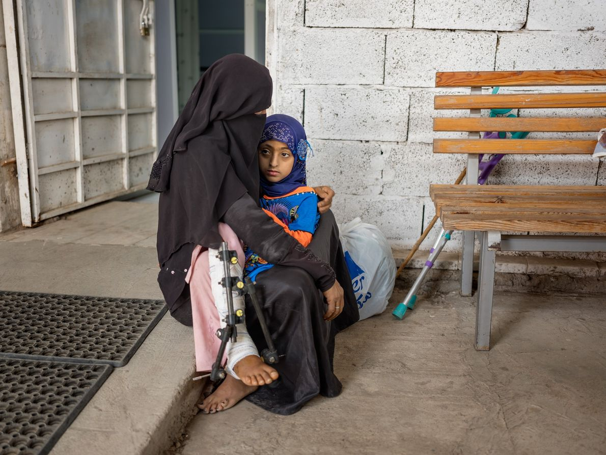An average of five children have been killed or injured each day since the conflict began, ...