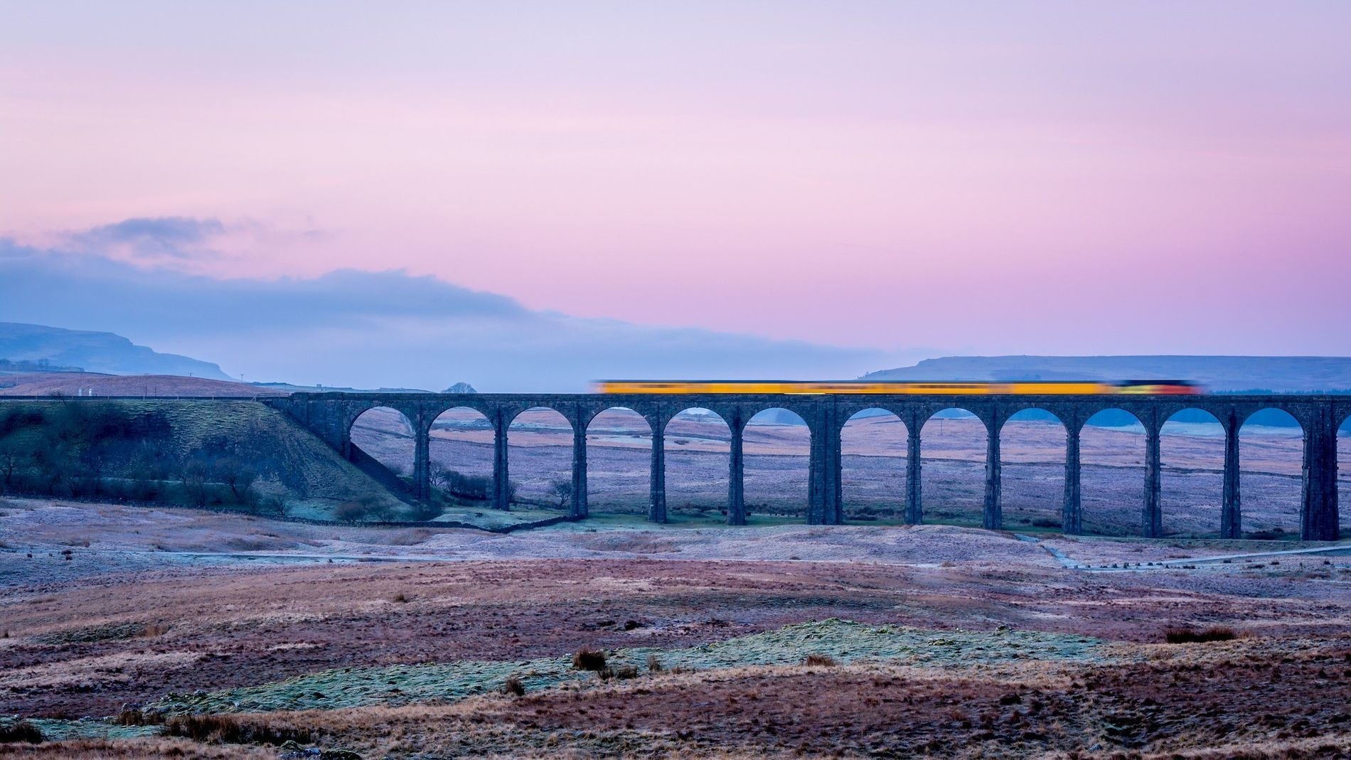 The Ribble Viaduct combines the spectacular scenery with the remarkable achievement of engineering that made the ...
