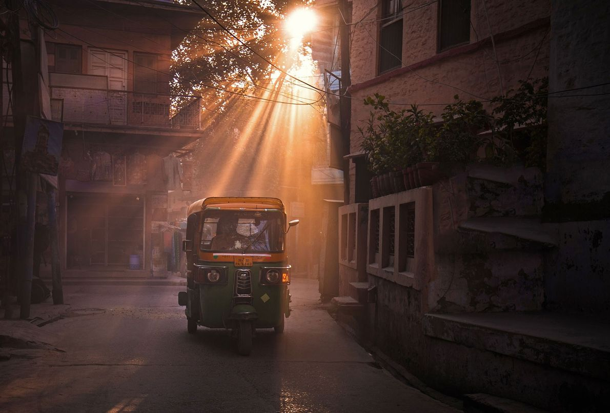 """Jaipur, India  At golden hour, says Yip, Jaipur is truly the Pink City. """"Soft rays cast from ..."""
