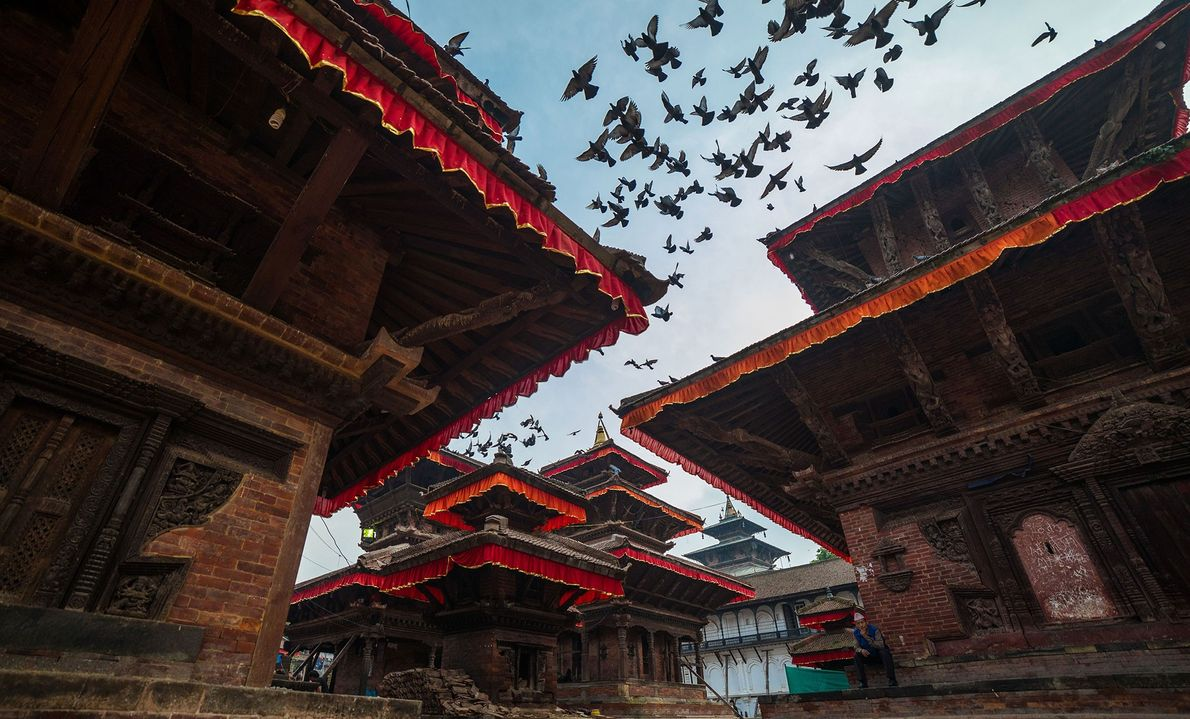 Kathmandu, Nepal  The capital of multicultural Nepal is crowded with Hindu and Buddhist temples—many of them architectural ...