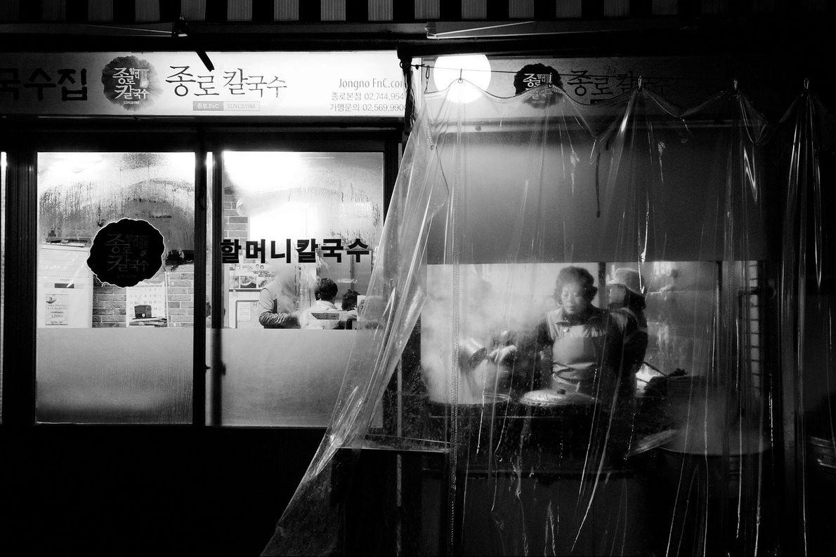 Seoul, South Korea  Stumble down a back alley in Seoul and get a glimpse into a whole ...