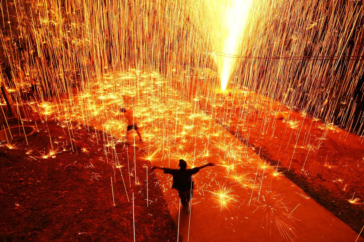 Thailand The sleepy village of Nan in northern Thailand bursts into life during this fireworks festival, prompting ...