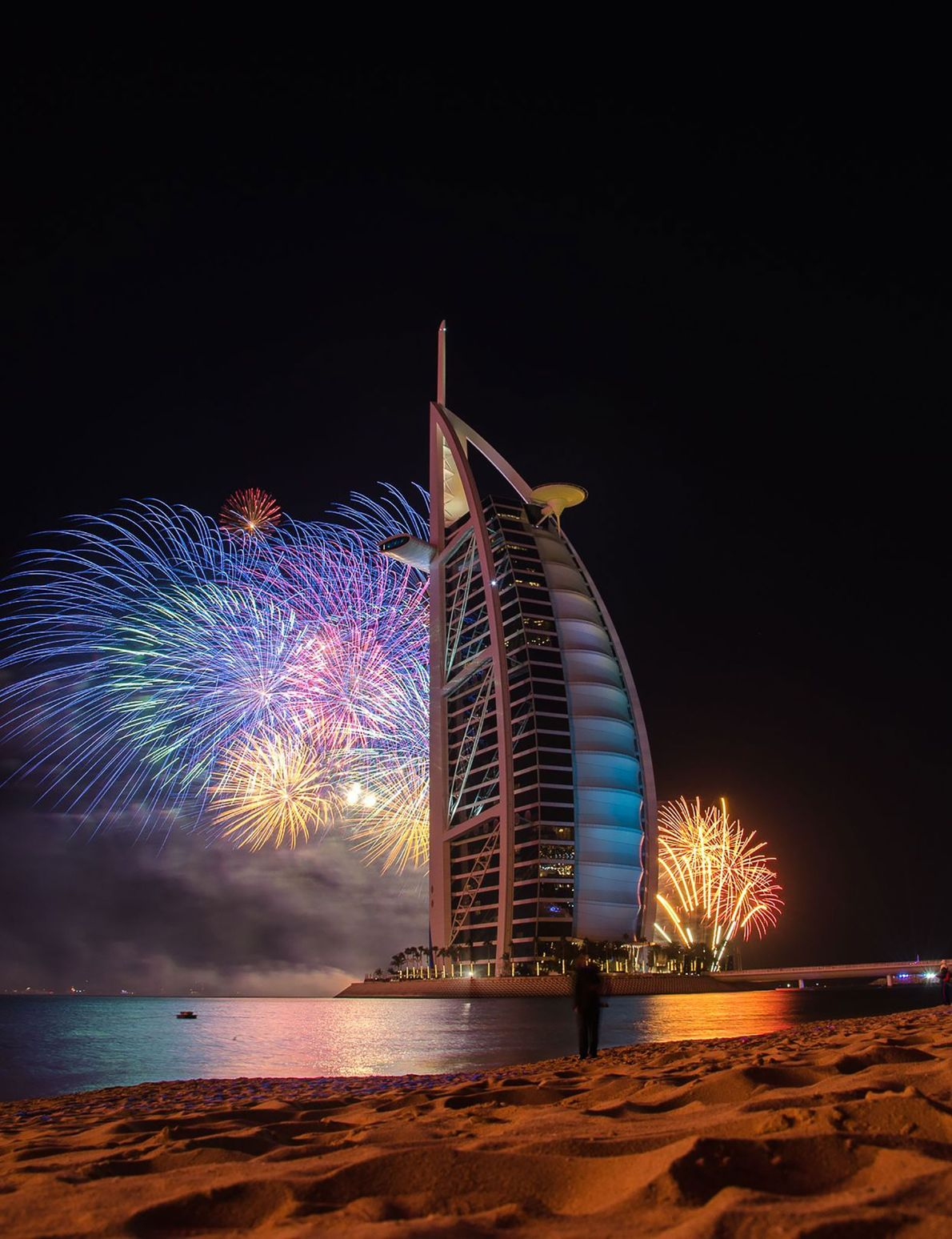 Dubai Dubai loves to do things bigger. In 2014, this show of 500,000 fireworks earned the city-emirate ...