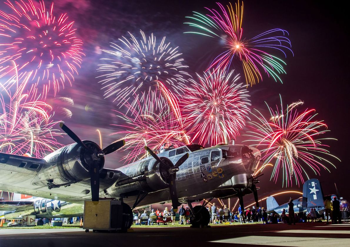 Wisconsin Hundreds of thousands of aviation enthusiasts flock to Wisconsin each July for the EAA AirVenture Oshkosh. ...